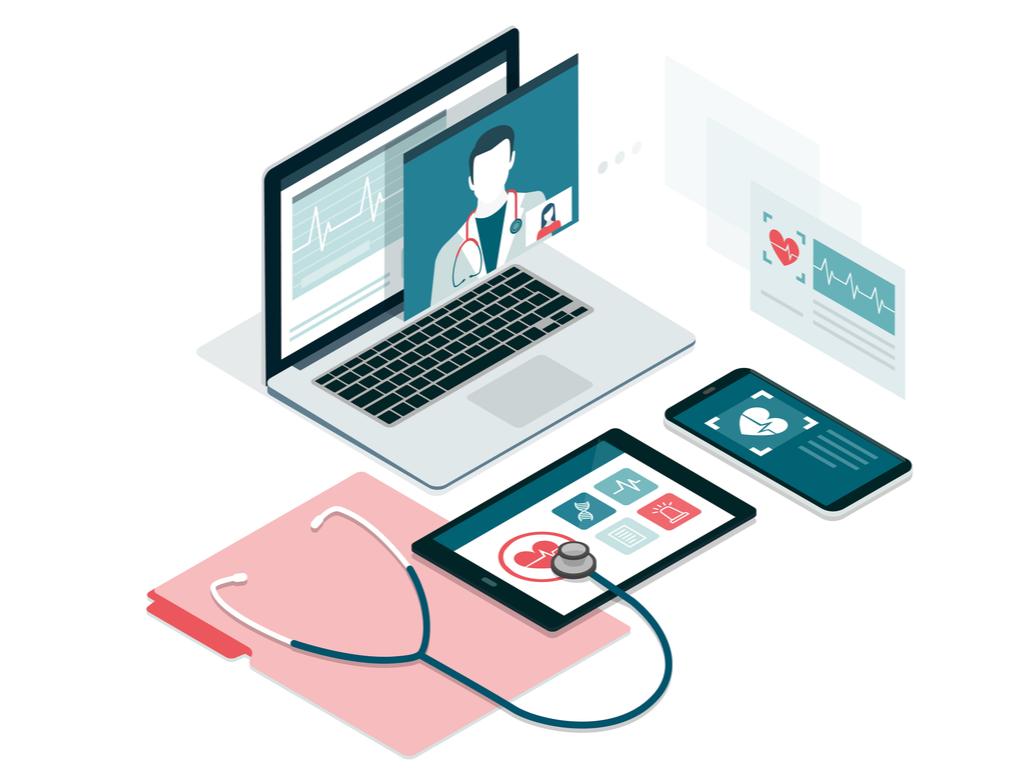 Self service healthcare portal.